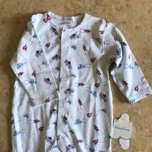 Kissy Kissy Footed Pajamas 6-9m
